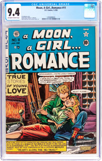 A Moon, A Girl...Romance #11 (EC, 1950) CGC NM 9.4 Off-white to white pages