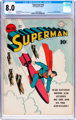 Superman #18 (DC, 1942) CGC VF 8.0 White pages