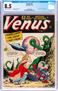 Venus #10 (Timely, 1950) CGC VF+ 8.5 Cream to off-white pages