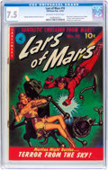 Golden Age (1938-1955):Science Fiction, Lars of Mars #10 (Ziff-Davis, 1951) CGC VF- 7.5 Off-white to whitepages....