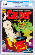 Golden Age (1938-1955):Humor, Casper the Friendly Ghost #20 (Harvey, 1954) CGC NM 9.4 Cream to off-white pages....