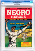 Golden Age (1938-1955):Non-Fiction, Negro Heroes #2 (Parents' Magazine Institute, 1948) CGC NM- 9.2Off-white pages....