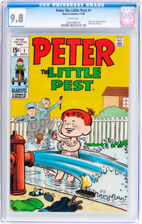 Peter the Little Pest #1 (Marvel, 1969) CGC NM/MT 9.8 White pages