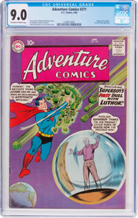 Adventure Comics #271 (DC, 1960) CGC VF/NM 9.0 Off-white to white pages