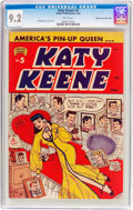 Golden Age (1938-1955):Humor, Katy Keene #5 Mile High Pedigree (Archie, 1952) CGC NM- 9.2 White pages....