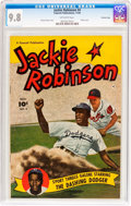Golden Age (1938-1955):Miscellaneous, Jackie Robinson #4 Crowley Copy Pedigree (Fawcett Publications, 1950) CGC NM/MT 9.8 Off-white pages....