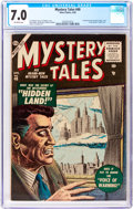Silver Age (1956-1969):Horror, Mystery Tales #40 (Atlas, 1956) CGC FN/VF 7.0 Off-white pages....