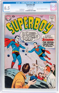Silver Age (1956-1969):Superhero, Superboy #68 (DC, 1958) CGC FN+ 6.5 Off-white pages....