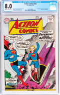 Silver Age (1956-1969):Superhero, Action Comics #252 (DC, 1959) CGC VF 8.0 Cream to off-whitepages....