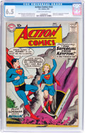Silver Age (1956-1969):Superhero, Action Comics #252 (DC, 1959) CGC FN+ 6.5 Cream to off-whitepages....