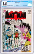 Silver Age (1956-1969):Superhero, Batman #121 (DC, 1959) CGC VF+ 8.5 Off-white to white pages....