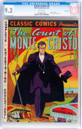 Golden Age (1938-1955):Classics Illustrated, Classic Comics #3 The Count of Monte Cristo - Original Edition - Vancouver Pedigree (Gilberton, 1942) CGC NM- 9.2 White pages....