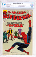 Silver Age (1956-1969):Superhero, The Amazing Spider-Man #10 (Marvel, 1964) CBCS NM+ 9.6 Off-white towhite pages....