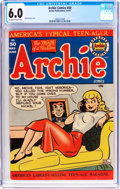 Golden Age (1938-1955):Humor, Archie Comics #50 (Archie, 1951) CGC FN 6.0 Off-white to white pages....