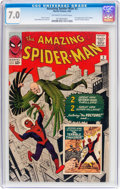 Silver Age (1956-1969):Superhero, The Amazing Spider-Man #2 (Marvel, 1963) CGC FN/VF 7.0 Off-white towhite pages....