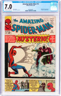 Silver Age (1956-1969):Superhero, The Amazing Spider-Man #13 (Marvel, 1964) CGC FN/VF 7.0 Off-white to white pages....