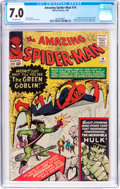 Silver Age (1956-1969):Superhero, The Amazing Spider-Man #14 (Marvel, 1964) CGC FN/VF 7.0 Off-white pages....