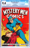 Golden Age (1938-1955):Superhero, Mystery Men Comics #13 Mile High Pedigree (Fox, 1940) CGC NM 9.4 White pages....
