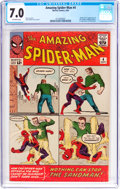 Silver Age (1956-1969):Superhero, The Amazing Spider-Man #4 (Marvel, 1963) CGC FN/VF 7.0 Off-whitepages....