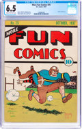 Platinum Age (1897-1937):Miscellaneous, More Fun Comics #25 (DC, 1937) CGC FN+ 6.5 Cream to off-whitepages....