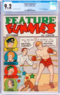 Feature Funnies #1 (Chesler, 1937) CGC NM- 9.2 Cream to off-white pages
