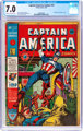 Captain America Comics #14 (Timely, 1942) CGC FN/VF 7.0 Cream to off-white pages