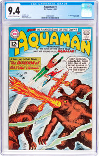 Aquaman #1 (DC, 1962) CGC NM 9.4 Off-white to white pages