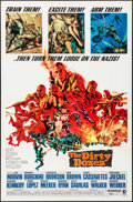 "Movie Posters:War, The Dirty Dozen (MGM, 1967). One Sheet (27"" X 41"") & UncutPressbook (16 Pages, 12"" X 17"") Frank McCarthy Artwork. War.. ...(Total: 2 Items)"