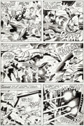 Original Comic Art:Panel Pages, Jack Kirby and Mike Royer Black Panther #7 Story Page 16Original Art (Marvel, 1978)....