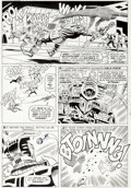 Original Comic Art:Panel Pages, Don Heck and Frank Giacoia (as Frankie Ray) Avengers #27 Story Page 15 Original Art (Marvel, 1966)....