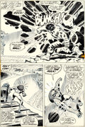 Original Comic Art:Panel Pages, John Romita Sr. Amazing Spider-Man #119 Page 14 Original Art(Marvel, 1973)....