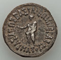 Ancients:Ancient Lots , Ancients: ANCIENT LOTS. Greek Kingdoms. Bactria and Indo-Sasanian.Lot of two (2) BI issues. Choice Fine-About VF.... (Total: 2 coins)