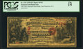 National Bank Notes:National Gold Bank Notes, San Francisco, CA - $5 1870 Fr. 1136 The First National Gold Bank Ch. # 1741. ...