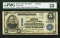 National Bank Notes:Wisconsin, Stone Lake, WI - $5 1902 Plain Back Fr. 603 The First NB Ch. # 10322. ...