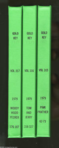 Bronze Age (1970-1979):Miscellaneous, Gold Key Miscellaneous Titles Bound Volumes (Gold Key, 1979). Theseare Western Publishing file copies which have been trimm...