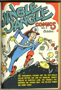 Jingle Jangle Comics #1-24 Bound Volumes (Eastern Color, 1942-46). Tucked away among the many bound volumes found in the...