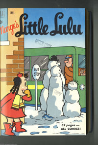 Marge's Little Lulu #31-66 Bound Volume Group (Dell, 1951-53). Who doesn't love Little Lulu? Everyone's favorite lit