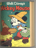 Golden Age (1938-1955):Funny Animal, Mickey Mouse #28-51 Bound Volumes (Dell, 1953-57). This two-volumeset of bound Mickey Mouse comics begins with the firs... (2 items)