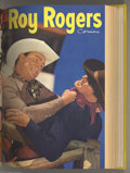 Golden Age (1938-1955):Western, Roy Rogers Comics #49-96 Bound Volumes (Dell, 1952-55). Dell comicssure produced some great Western comics in the early 195... (4items)