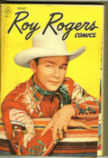 Golden Age (1938-1955):Western, Roy Rogers Comics #1-12 Bound Volume (Dell, 1948). This volumecontains trimmed and bound Western Publishing file copies. Al...
