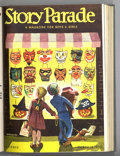 Golden Age (1938-1955):Miscellaneous, Story Parade Bound Volumes (Catechetical Guild, 1951-52). These are not comic books, but rather comic-sized magazines with t...