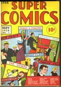 Golden Age (1938-1955):Miscellaneous, Super Comics #1-12 Bound Volume (Dell, 1938-39). Dick Tracy, Terry and the Pirates, Little Orphan Annie, Harold Teen, and ma...