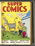 Golden Age (1938-1955):Miscellaneous, Super Comics #13-24 Bound Volume (Dell, 1939-40). The second volume of Super Comics from June, 1939 to May, 1940, featur...