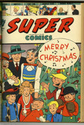 Golden Age (1938-1955):Miscellaneous, Super Comics #61-96 Bound Volume Group (Dell, 1943-46). Super Comics was another Dell title consisting of reprinted news...