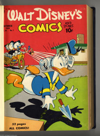 Walt Disney's Comics and Stories # 109-132 Bound Volume Group (Dell, 1949-51). Timeless classics are on hand inside the...