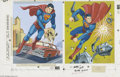 Original Comic Art:Miscellaneous, Western Publishing Artist - Superman Frame-Tray Puzzle ProductionOriginal Art (Whitman, undated). This super lot contains t...