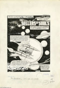 "Original Comic Art:Complete Story, Mike Roy - Buck Rogers in the 25th Century #16 Complete 32-pageStory, ""The Sellers of Souls"" Original Art (Whitman, 1982). ..."