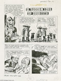 Original Comic Art:Complete Story, John Celardo, Ed Robbins, George Roussos, and Jack Sparling -Grimm's Ghost Stories #30 Complete Story Original Art, Group of ...(23 items)