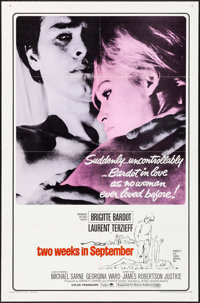 """Two Weeks in September (Paramount, 1967). One Sheet (27"""" X 41""""). Foreign"""
