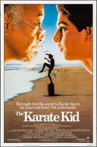 """The Karate Kid & Other Lot (Columbia, 1984). One Sheets (2) (27"""" X 41""""). Sports. ... (Total: 2 Items)"""